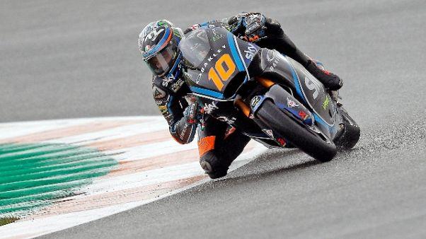 Gp Valencia: Marini in pole nella Moto2