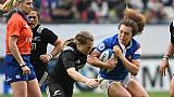 Rugby: exploit des Françaises face aux Néo-Zélandaises