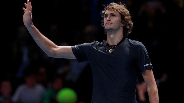 ثورة غضب مع فوز زفيريف على فيدرر في قبل نهائي البطولة الختامية