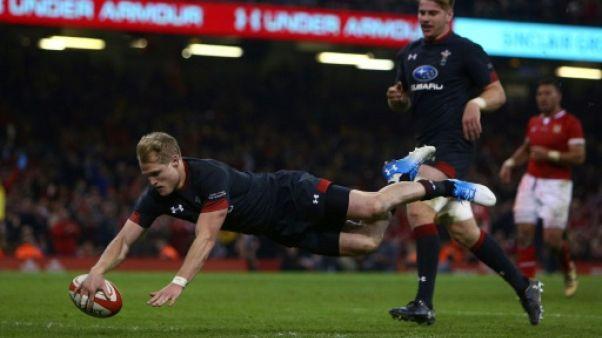Rugby: le pays de Galles déroule contre les Tonga