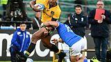 Rugby: l'Australie victorieuse mais pas brillante en Italie