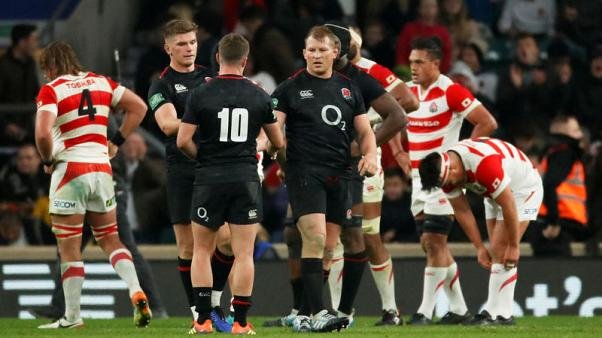 Second-half surge gives England 35-15 win over Japan