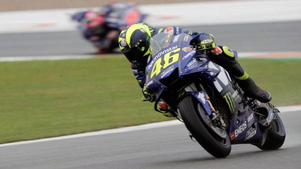 Moto: Rossi, giornata molto difficile