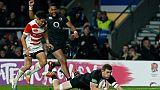 Rugby: victoire compliquée de l'Angleterre sur le Japon