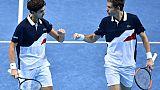 Tennis: Mahut et Herbert s'ouvrent les portes de la finale du Masters