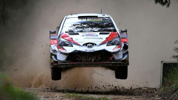 Rallye d'Australie: Tänak mène toujours, Ogier reste 6e