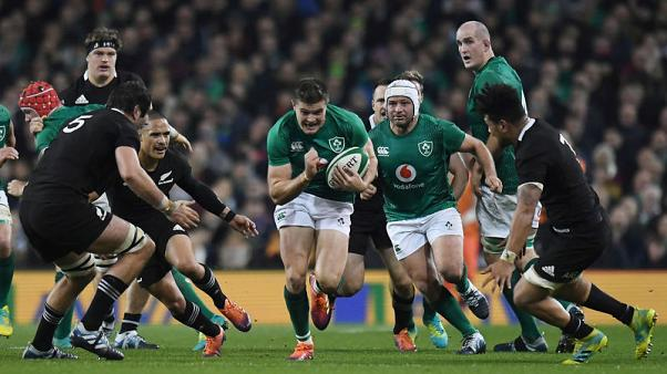 Ireland topple New Zealand to lay down World Cup marker