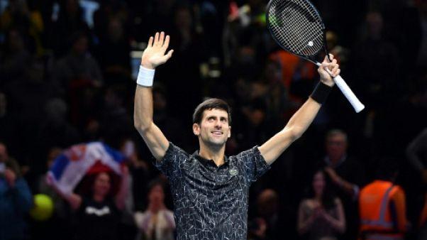 Tennis: Novak Djokovic rejoint Alexander Zverev en finale à Londres