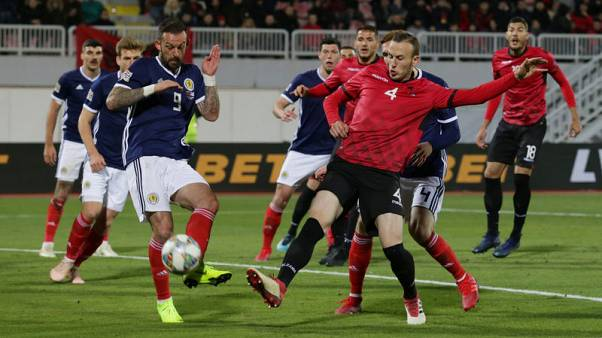 Scotland boost Nations League promotion chances with win in Albania