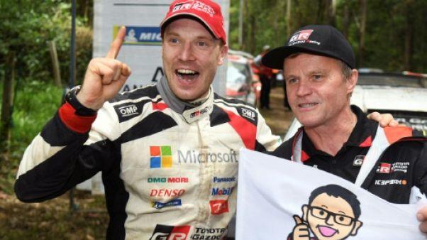 Rallye d'Australie: Latvala gagne et offre le titre des constructeurs à Toyota