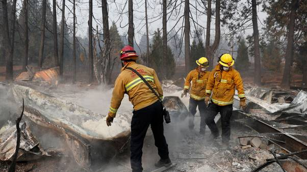 Rain on the way as search for missing continues after California wildfires