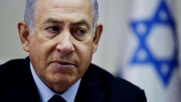 """Israël: Netanyahu estime que des élections anticipées seraient une """"erreur"""""""
