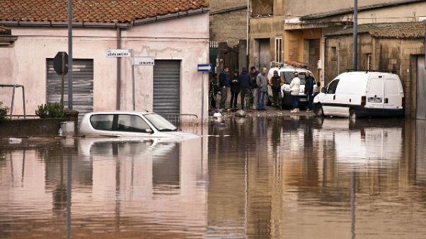 Alluvione Sardegna: 5 anni fa 19 morti