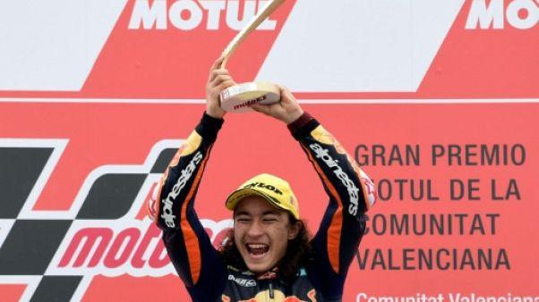 Le Turc Can Öncü vainqueur du GP de Valence en Moto 3 le 18 novembre 2018