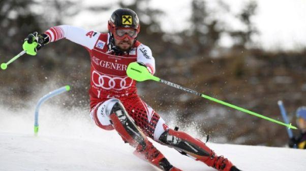 Ski alpin: Hirscher frappe d'entrée au slalom de Levi, Pinturault sort