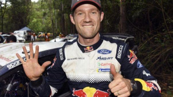 """Rallye d'Australie: """"Une émotion très forte!"""" pour Ogier"""
