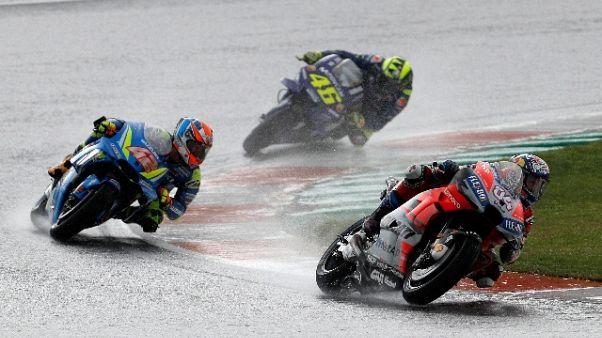 MotoGp: Dovizioso vince Gp di Valencia