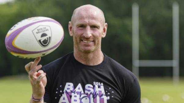 Rugby: Gareth Thomas, ancien capitaine du rugby gallois victime d'une agression homophobe