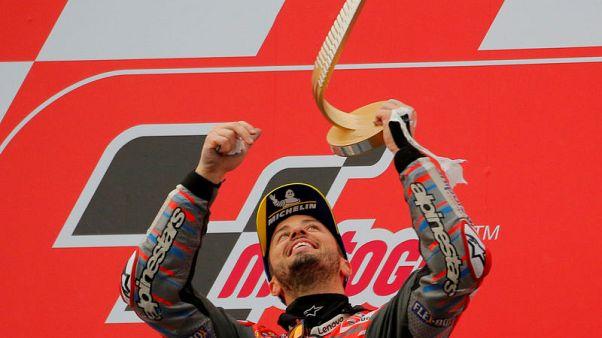 Dovizioso wins thrilling MotoGP season finale in Valencia