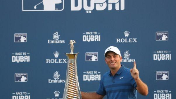 Golf: Molinari boucle sa plus belle saison par un sacre européen à Dubaï