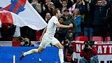 Ligue des nations: l'Angleterre bat la Croatie 2-1 et se qualifie pour le Final Four
