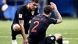 Infortunio per Vrsaljko con la Croazia