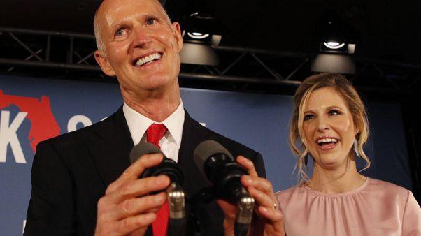 Republican Scott wins Florida U.S. Senate seat after manual recount