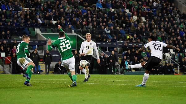 Lazaro's stoppage time winner leaves Northern Ireland pointless