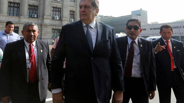 Peru ex-president Garcia asked for asylum in Uruguay - foreign ministry