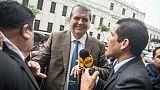 L'ex-président péruvien Garcia, soupçonné de corruption, demande asile à l'Uruguay