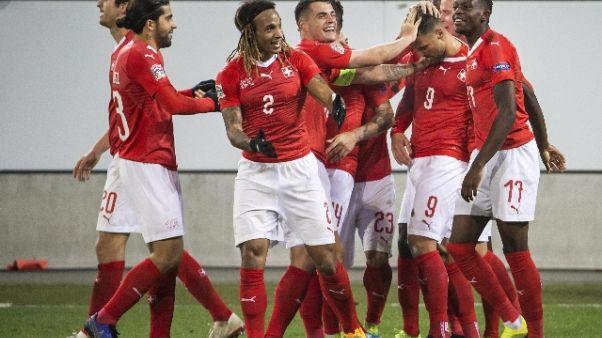 Nations League, Svizzera va alle finali