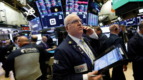 World stocks weighed by Apple demand woes, trade tensions