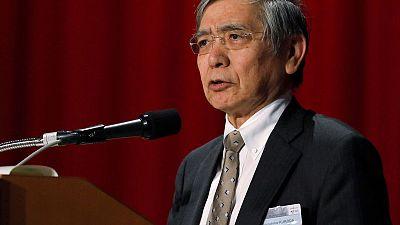 BOJ's Kuroda warns of risks from falling regional banks' profits