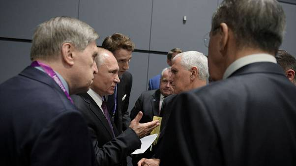 Kremlin says Putin told Pence Russia did not meddle in U.S. election - Ifax