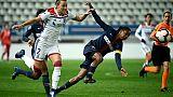 Dames: le PSG obtient le nul face à l'OL en prime time
