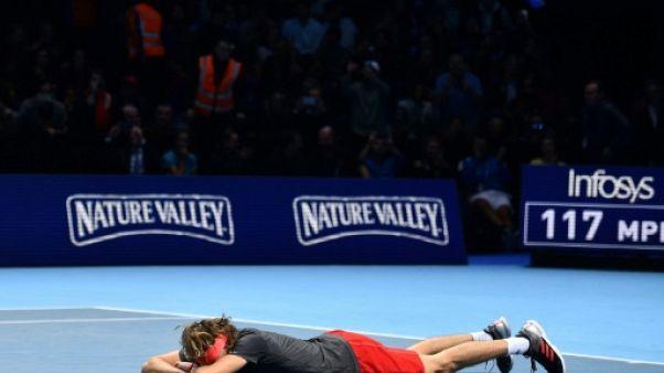 """Masters: """"Zverev nouveau roi du tennis"""" pour les médias allemands"""