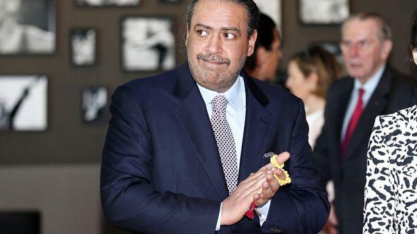 Olympics-Powerful Sheikh Ahmad temporarily leaves IOC roles