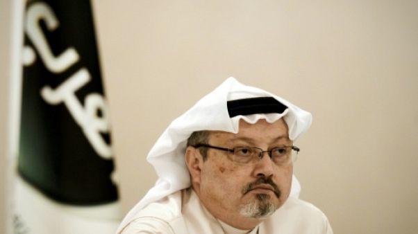 Le journaliste saoudien Jamal Khashoggi, le 15 décembre 2014 au Bahreïn