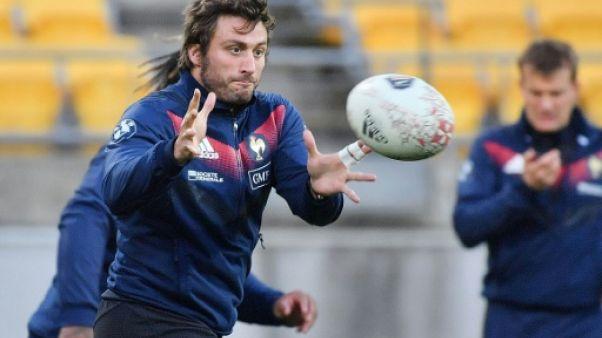 XV de France: Médard forfait contre les Fidji, non remplacé