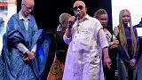 Mali singer Salif Keita highlights plight of African albinos