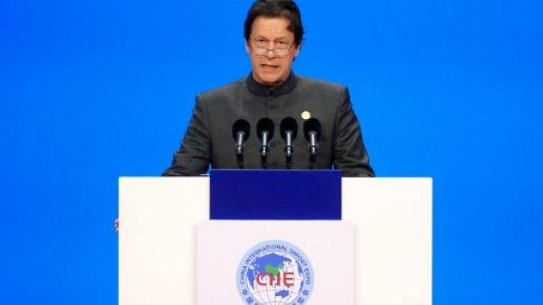 Le Premier ministre pakistanais Imran Khan, à Shanghai le 5 novembre 2018.