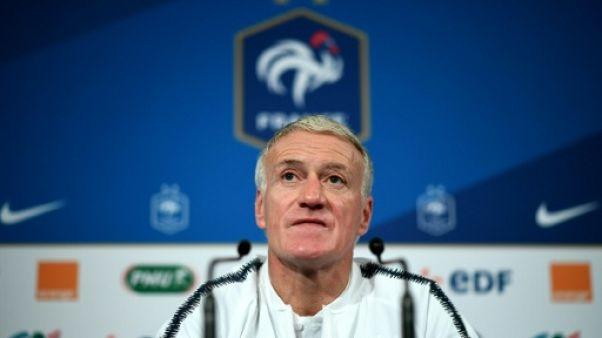 """Didier Deschamps: """"Terminer 2018 sur une note positive"""""""