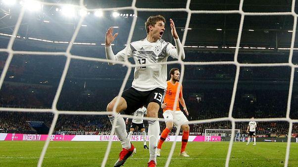 هولندا تنتفض وتتعادل 2-2 مع ألمانيا وتتأهل في دوري الأمم