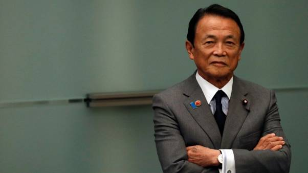 Japan finmin Aso says to compile second extra budget for FY2018