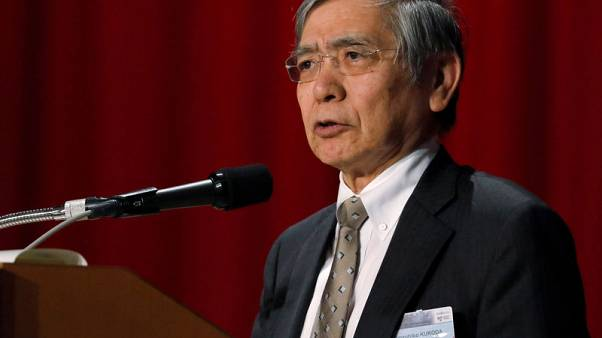 BOJ's Kuroda rules out early end of negative rate policy