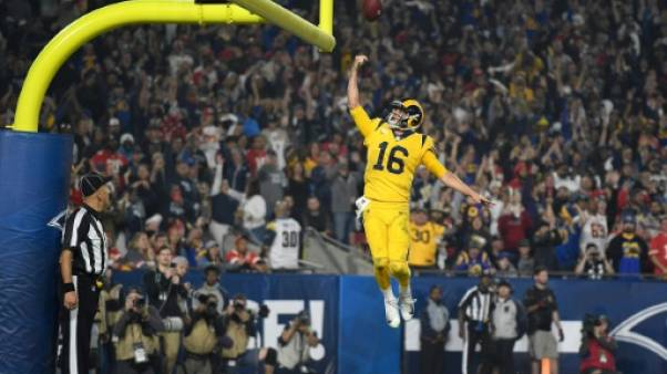 NFL: Les Los Angeles Rams soumettent les Chiefs dans un festival offensif