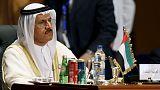 وزير الاقتصاد الإماراتي يأمل بحل مسألة الرسوم الأمريكية العام القادم