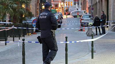 Policeman stabbed in central Brussels, police say motive unclear