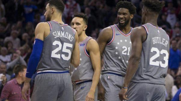 NBA: les Sixers parfaits à domicile, Charlotte s'offre Boston