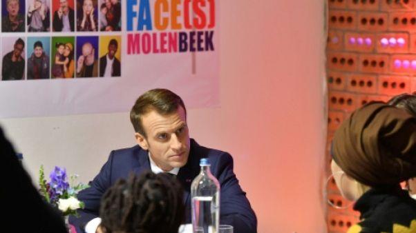 Belgique: Macron à la découverte d'un autre visage de Molenbeek